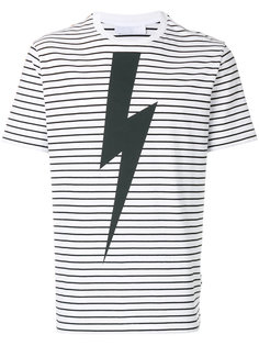 полосатая футболка Thunderbolt  Neil Barrett
