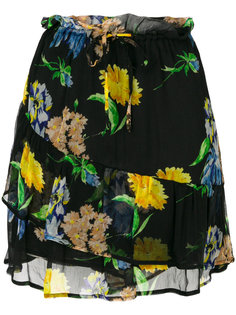 юбка с цветочным принтом Ganni