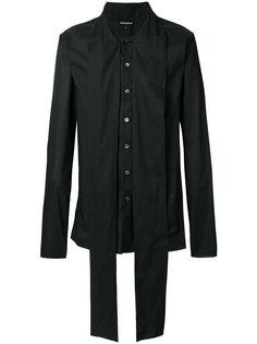 oversized collar shirt Ann Demeulemeester Blanche