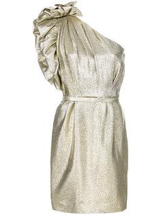 платье на одно плечо из люрекса  Stella McCartney