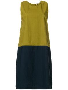 платье шифт дизайна колор-блок Odeeh