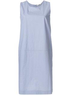 платье шифт без рукавов  Odeeh