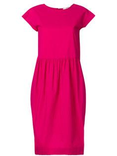 расклешенное платье-рубашка  Odeeh