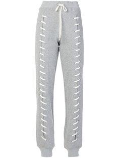 спортивные брюки со шнуровкой Jonathan Simkhai