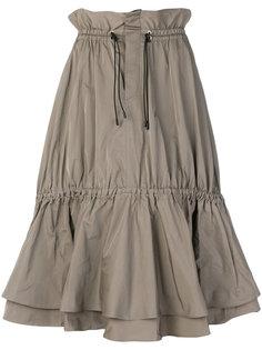 юбка с поясом на шнурке Jonathan Simkhai
