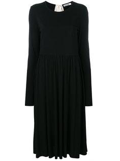платье на завязке сзади Jil Sander