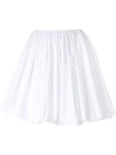 плиссированная пышная юбка Jil Sander