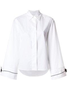 рубашка с потайной застежкой на пуговицы Mm6 Maison Margiela