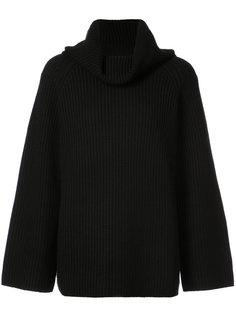 свитер-оверсайз с воротником поло Chloé
