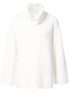 свитер с отворотом  Chloé