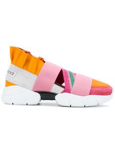 кроссовки с рюшами Emilio Pucci