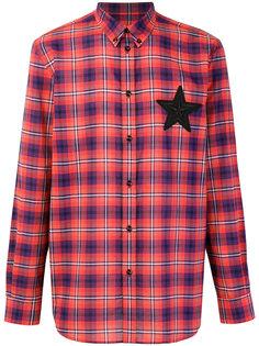 рубашка в клетку на пуговицах Givenchy