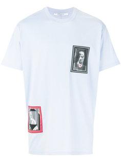 футболка свободного кроя с заплатками с графическим принтом Givenchy
