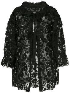 куртка с завязками и вышивкой  Boutique Moschino