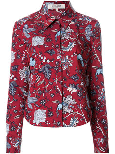 рубашка с цветочным принтом Dvf Diane Von Furstenberg