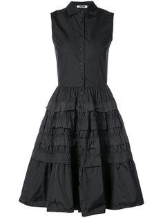 платье-рубашка с ярусными оборками  Jourden