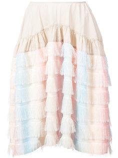 юбка с бахромой  Jourden