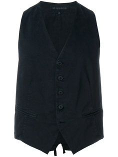 buttoned waistcoat Ann Demeulemeester Blanche