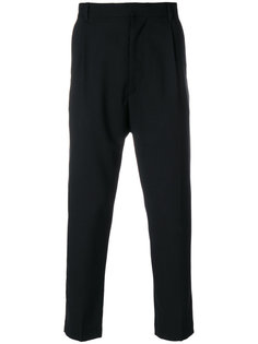 dropped crotch trousers Ann Demeulemeester Blanche