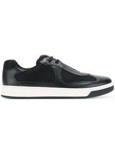 кроссовки с сетчатыми панелями Prada