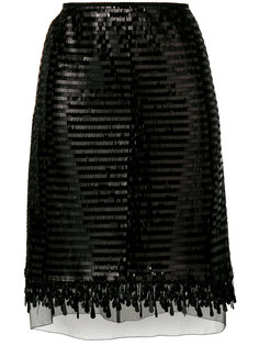 юбка с пайетками Marc Jacobs
