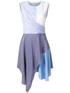 асимметричное платье с драпированной деталью Opening Ceremony