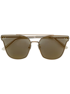 tinted cat-eye sunglasses Bottega Veneta Eyewear