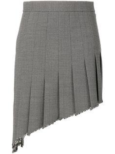 асимметричная юбка school girl Helmut Lang