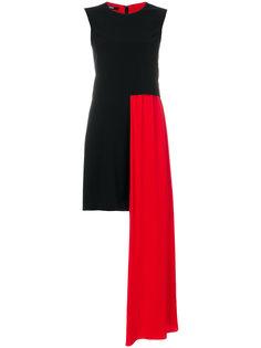 платье с контрастной длинной панелью Neil Barrett