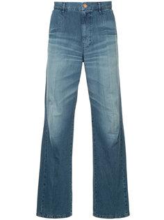 прямые джинсы я выцветшим эффектом Hysteric Glamour
