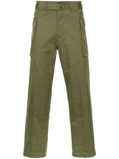 укороченные брюки-карго Hysteric Glamour