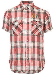 рубашка с короткими рукавами в клетку Hysteric Glamour