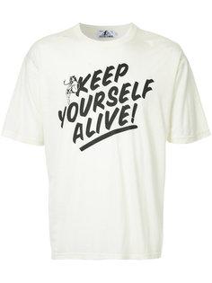 футболка с надписью Hysteric Glamour