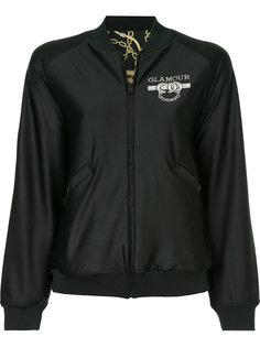 куртка-бомбер с принтом логотипа Hysteric Glamour