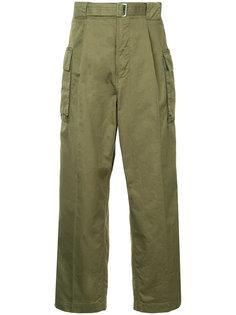 """брюки в стиле """"милитари"""" Hysteric Glamour"""