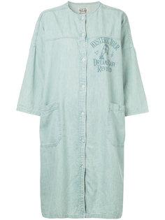 джинсовое платье-рубашка Hysteric Glamour