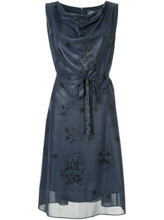расклешенное платье Hysteric Glamour