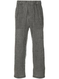 брюки в клетку McQ Alexander McQueen