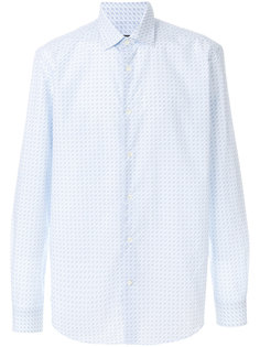 рубашка с принтом Gancio Salvatore Ferragamo