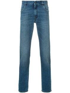 прямые джинсы Fendi