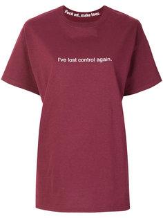 футболка Ive Lost Control Again F.A.M.T.
