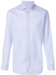 рубашка в мелкий горошек Z Zegna