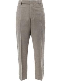 брюки с отделкой из бусин Rick Owens