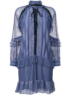 платье-рубашка с рюшами Just Cavalli