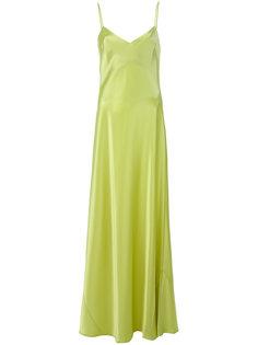 платье с V-образным вырезом  Galvan