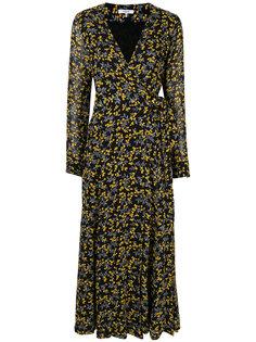 платье с запахом Marceau Georgette Ganni