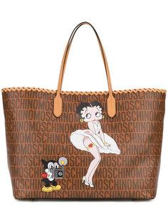 сумка-тоут Betty Boop Moschino