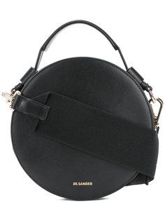 круглая сумка на плечо Jil Sander