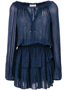 printed ruffled dress Love Shack Fancy