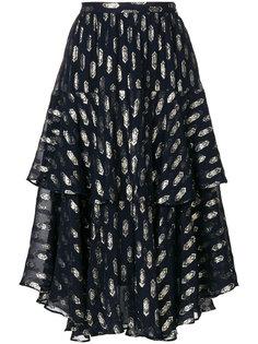 пышная юбка с принтом Love Shack Fancy